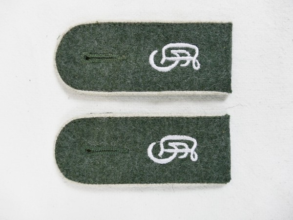 Wehrmacht pair epaulettes Großdeutschland GD Teams for field blouse M40