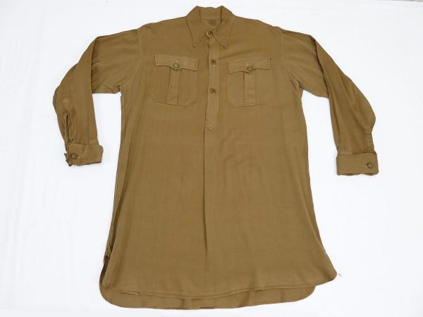 Original WW2 HJ BDM JM SA uniform shirt brown shirt