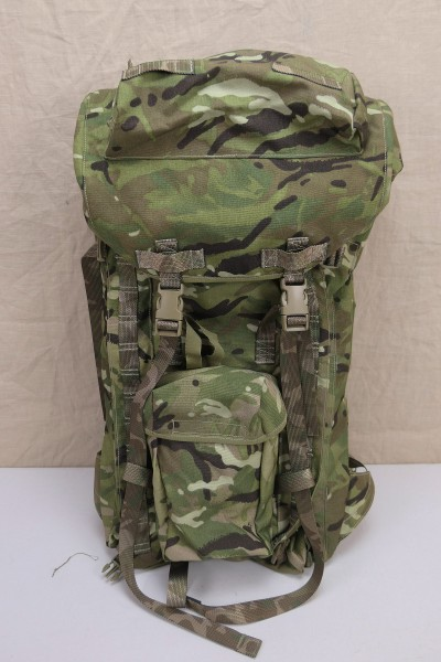 British Army Backpack & Frame Long Convoluted Back MTP Multicam 2016