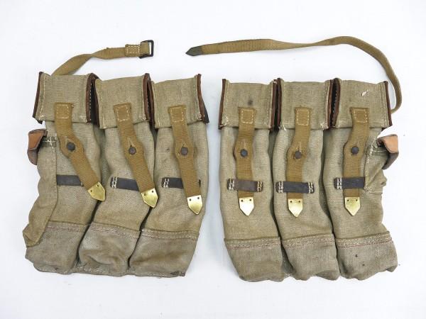 #09 Wehrmacht 2x Magazine pouch pair Sturmgewehr 44 Tropen Südfront STGW44 MP44 MKB Afrikakorps