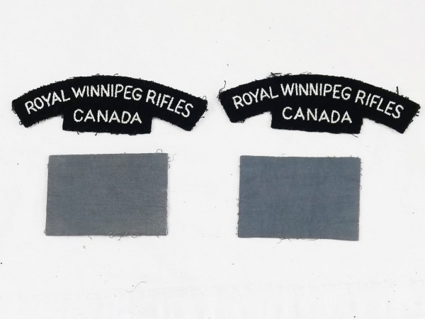 WW2 Royal Winnipeg Rifles Canada patch patch