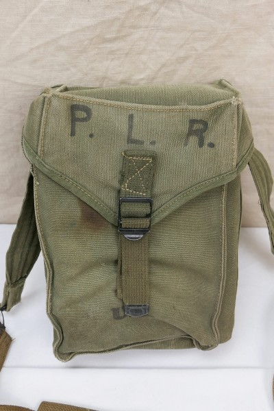 US original WW2 M1 Pouch General Purpose Ammunition Pouch with Carrying Strap 1945
