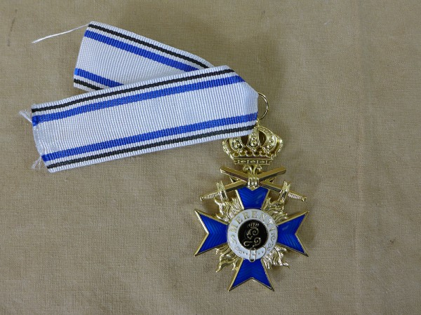 Bavarian Military Order - Order of Merit 3rd Class with Swords and Crown