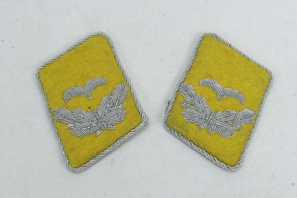 WW2 Luftwaffe Collar Mirror Lieutenant LW Paratrooper