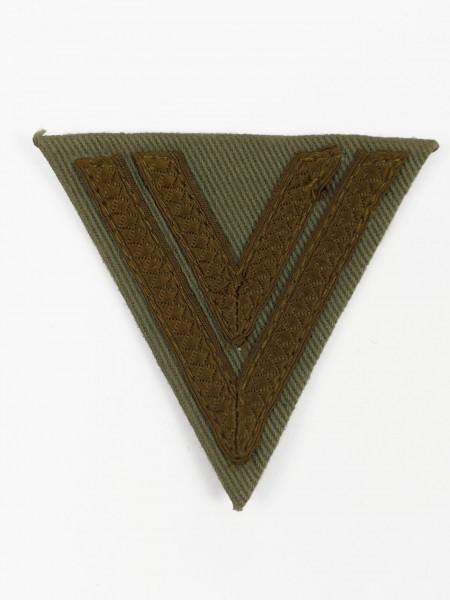 Wehrmacht Obergefreiten Rangabzeichen Obegefreitenwinkel DAK Angle