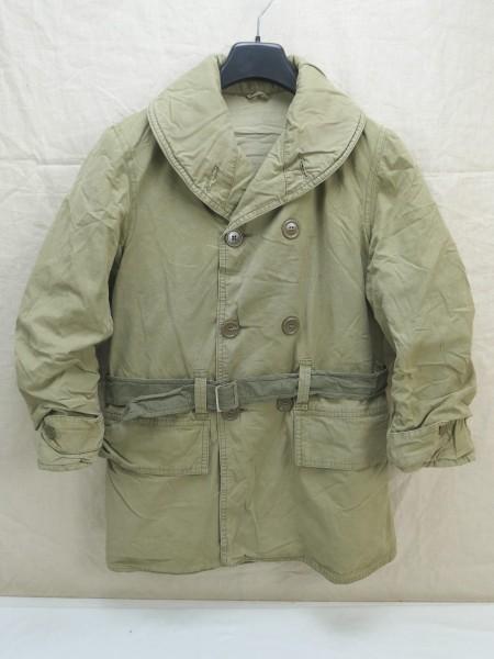 ORIGINAL US WW2 Mackinaw Jacket winter over coat Jeep Jacket Coat Size Small