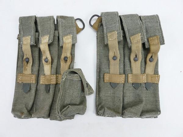Wehrmacht pair MP 38/40 magazine pouches south front DAK Afrikakorps also late war