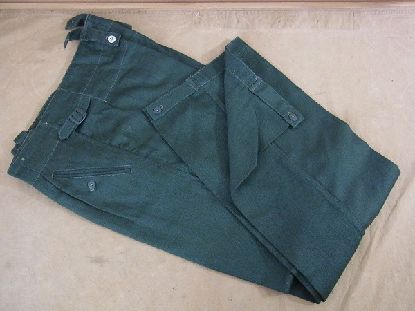 Drillichhose Wehrmacht / Elite Drillich Trousers Feldhose M40 HBT summer uniform