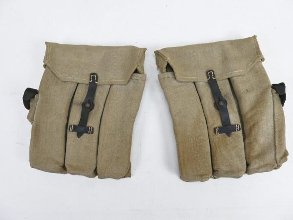 Wehrmacht Volkssturm 2x magazine pouch assault rifle 44 STGW44 MP44 MKB