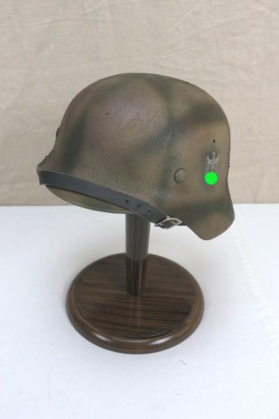 Steel helmet Wehrmacht Army model M35 Rauhtarn camouflage helmet size 57/58 #19