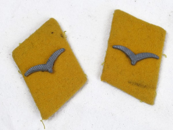 Wehrmacht Luftwaffe collar mirror pilot / non-commissioned officer