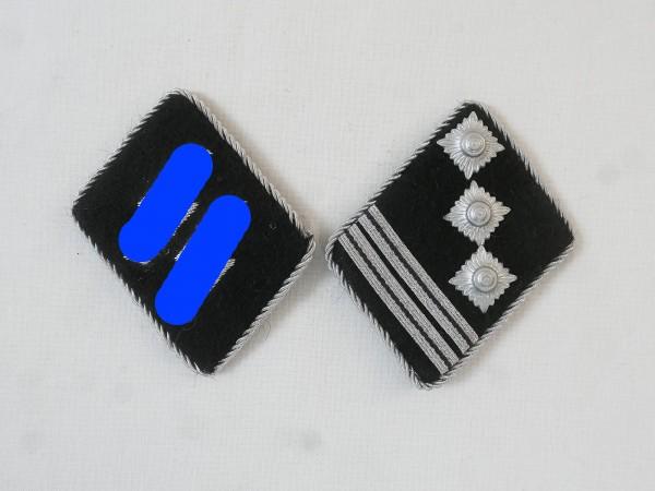 Waffen Elite collar mirror / Hauptsturmführer Hauptmann , Paar