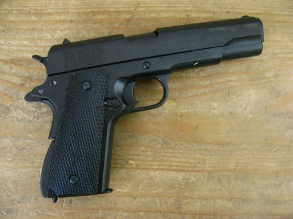 US Army Colt 1911 Deco Model Movie Weapon