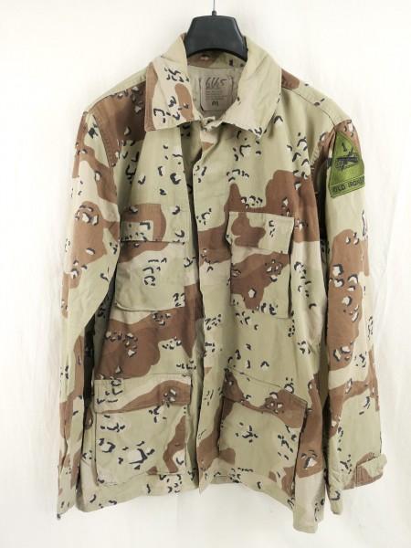 US field jacket - Combat coat - Desert Storm - 6 color - chocolate chip - Medium LONG