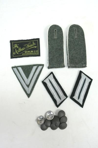 Effects Set M40 field blouse lance corporal / collar patch / epaulettes / 10x buttons / label /