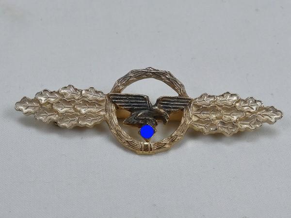 Luftwaffe Frontflugspange Transport- and Airborne Pilot Level Gold