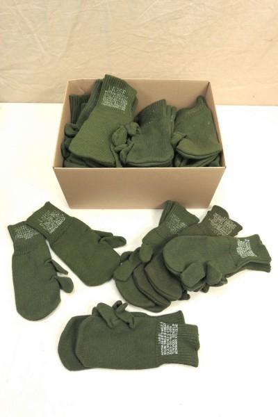 US ARMY Trigger Finger Wool Gloves M-1948 / Gloves wool olive / Size L Large