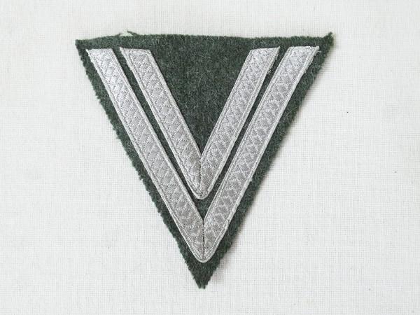 Wehrmacht Heer M40 Obergefreitenwinkel Rank Service Angle Obergefreiter f. Feldbluse