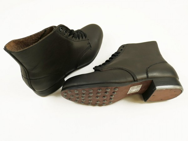 Weapons Elite laced shoes boots low shoes black