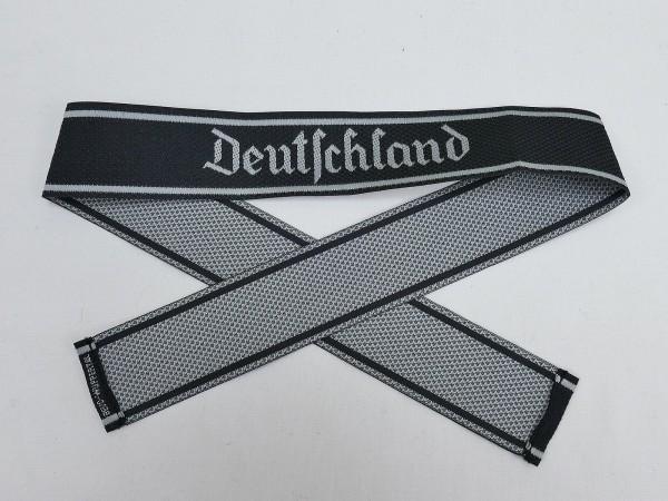 Wehrmacht Elite BEVO Sleeveband SS Regiment 1 DEUTSCHLAND Sleeve Stripe