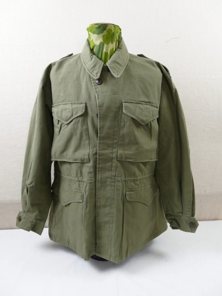 US ARMY WW2 Vintage Field Jacket M-1943 Field Jacket M43 Jacket prewashed with size selection