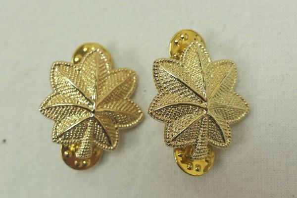 US Army Rank Badge Major 1x Pair Badge Insignia PIN