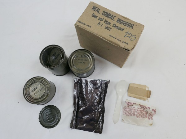 US Army Ham & Eggs, Chopped Meal Combat Individual C-ration