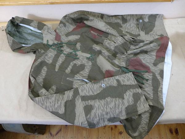 WEHRMACHT swamp camouflage sniper smock tan & water slip jacket sniper