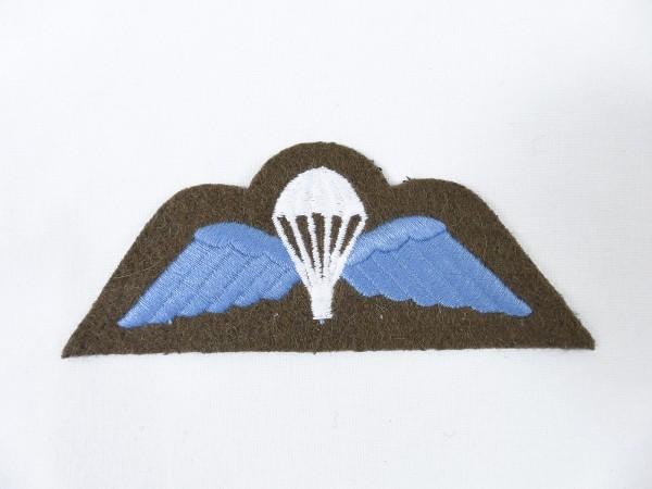 WW2 British RAF Patch parachutist badge