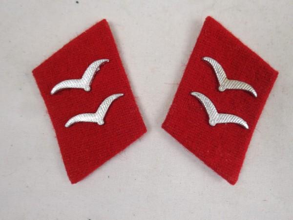 Wehrmacht collar patch Gefreiter Flak 1x pair