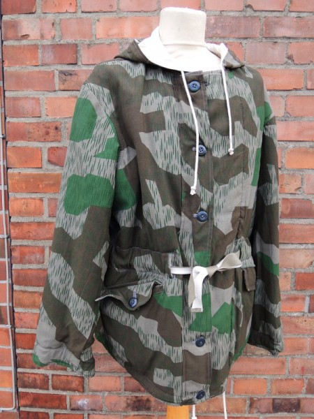 winter reversible jacket splinter camouflage reversible parka Wehrmacht army size XL winter additional clothing