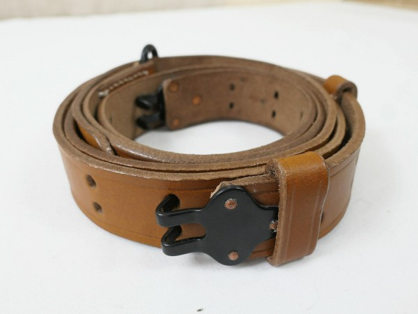 US ARMY WW2 Springfield Garand M1 Carrying Strap Leather Rifle Strap Sling