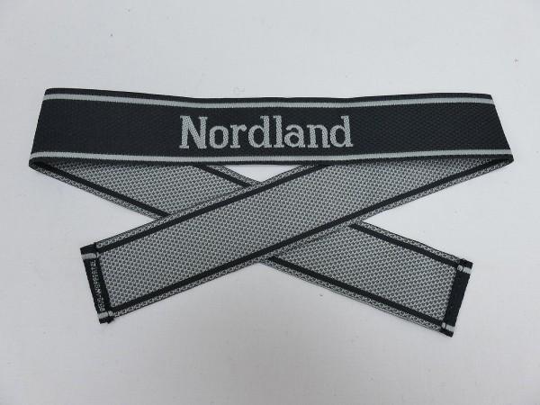 Wehrmacht Elite Weapons SS BEVO Sleeve Band NORDLAND Sleeve Stripes