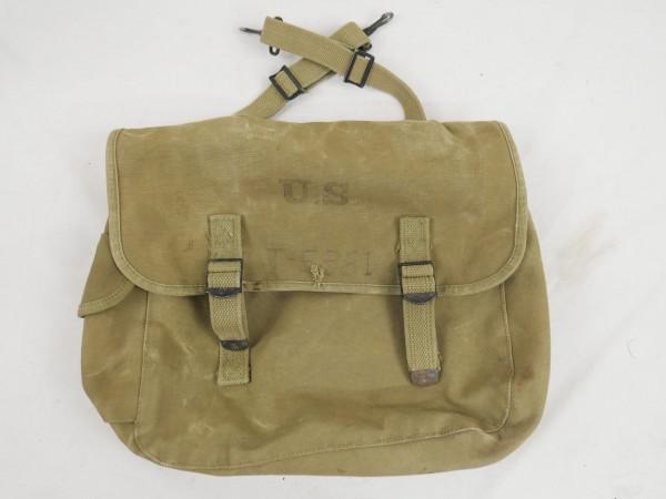 Original US Army WW2 M-1936 Musette Bag combat bag 1943
