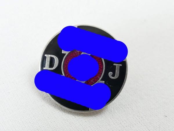 RZM member badge German Jungvolk DJ badge on pin