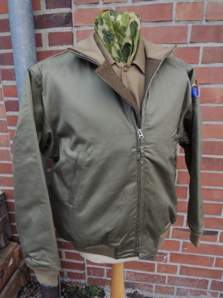US Army Tanker Jacket 6th Armored Division Jacket Tanker Crew Tanker Jacket