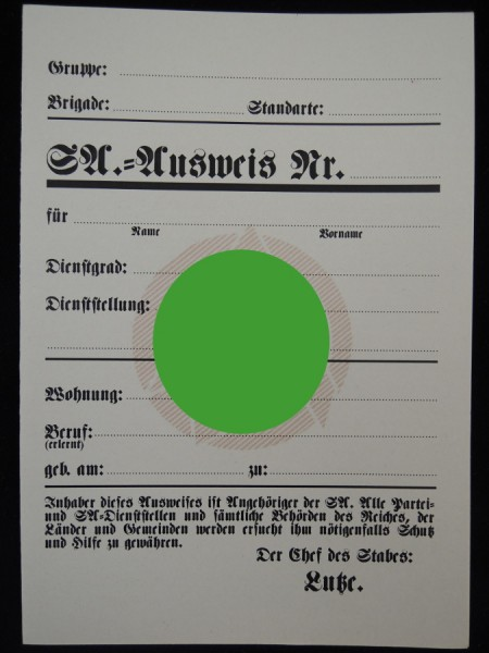 SA Identity card