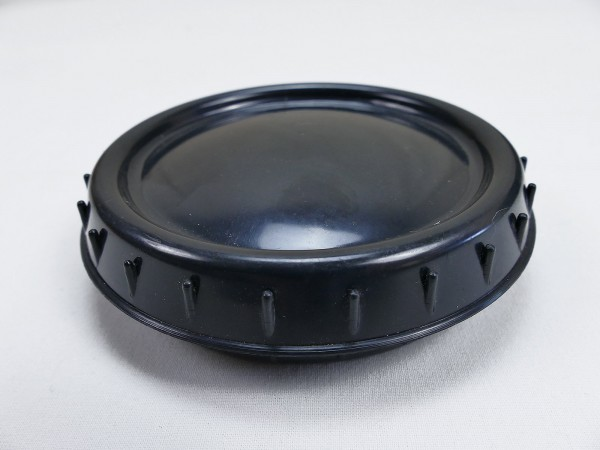 Wehrmacht Butter Dish Black Storage Jar