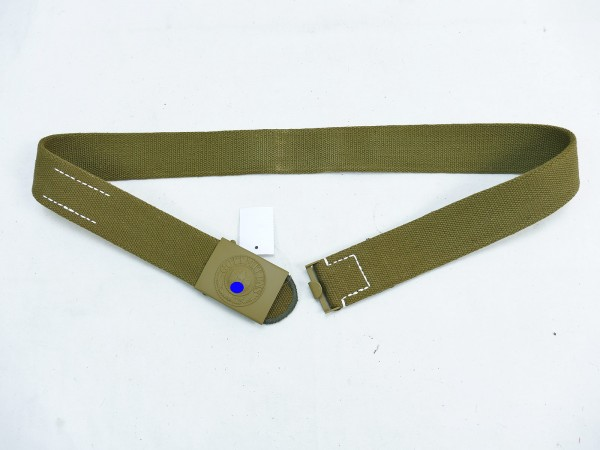 DAK Afrikakorps Tropen Koppel Heer / Web Koppelriemen Koppel 100er length 1942 with belt buckle