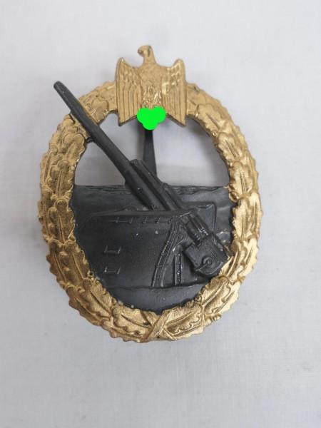 Kriegsmarine Marine Artillery Coastal Artillery Badge 57er Version