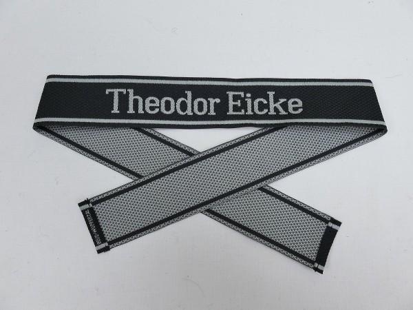 Wehrmacht Elite BEVO Waffen SS sleeve band THEODOR EICKE sleeve stripes