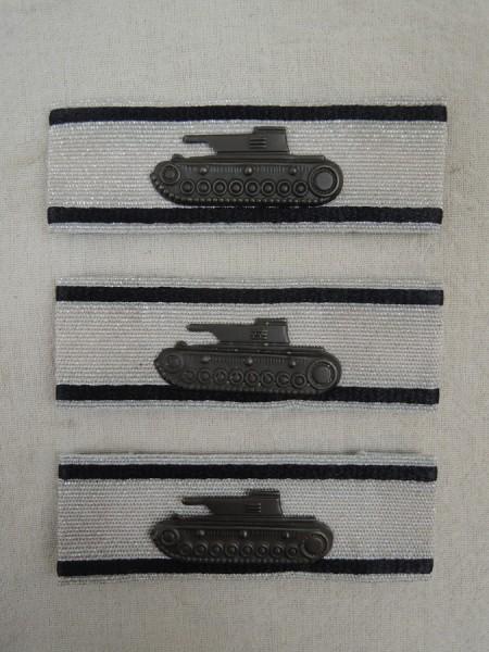 Wehrmacht 3x Panzervernichtungsabzeichen level silver