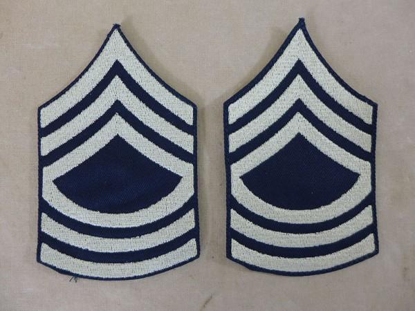 US ARMY WW2 Ranks Rank Badge M/Sgt Master Sergeant Uniform Rank Badge