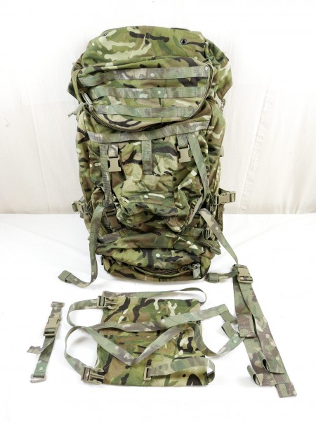 DFM14 Trekking Outdoor Backpack 90L GU BERGEN Multicam Backpack GB Army 2016