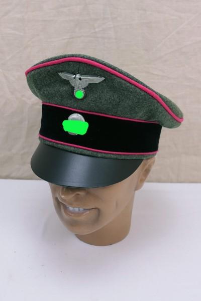 WK2 Panzer visor cap size 59 Panzer troop officer