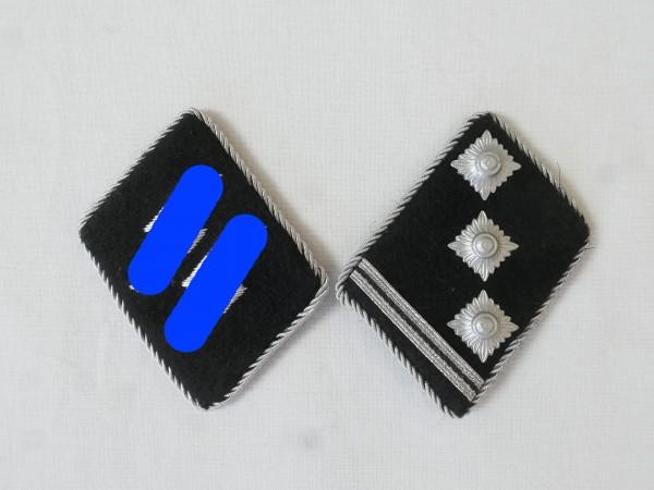 Waffen Elite collar mirror / Obersturmführer Oberleutnant , couple