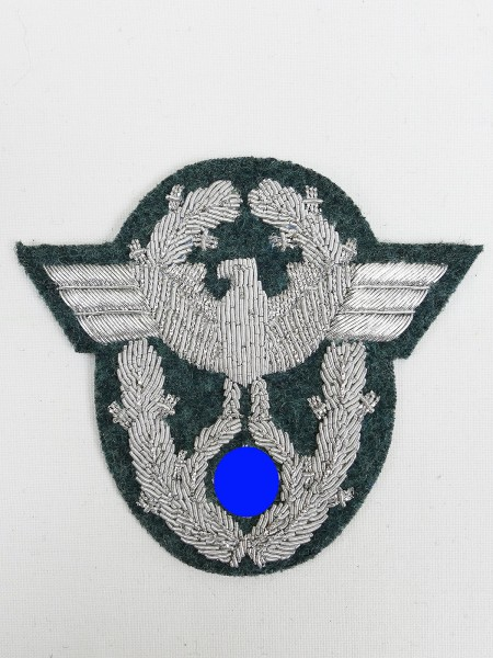 Wehrmacht Police Officers Sleeve Eagle Sleeve Badge Eagle Field Blouse