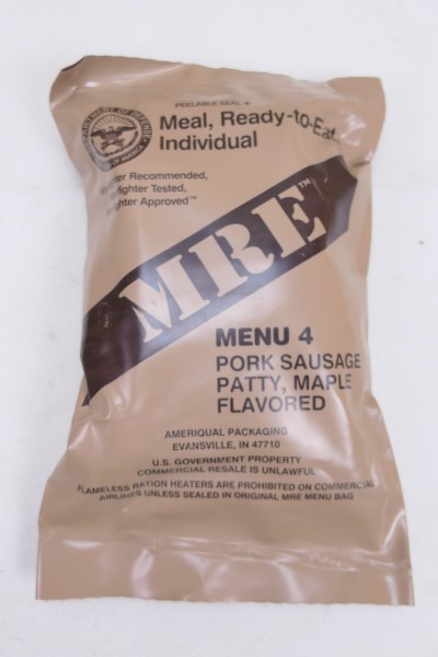 US Army MRE NATO Meal Ready to Eat Field Ration Meal