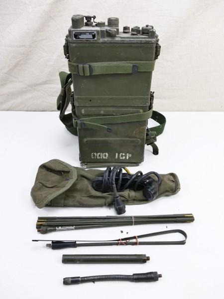 #20 US ARMY RADIO UNIT VIETNAM RADIO RECEIVER PRC-9/10 + Accessories WILLYS JEEP