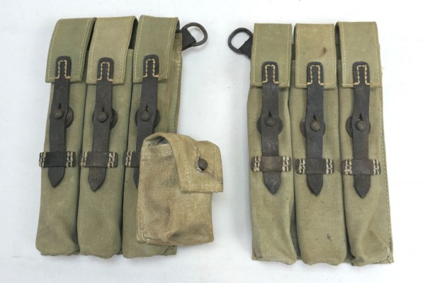 Wehrmacht MP 38/40 Magazine Pouches South Front DAK Africa Corps #2
